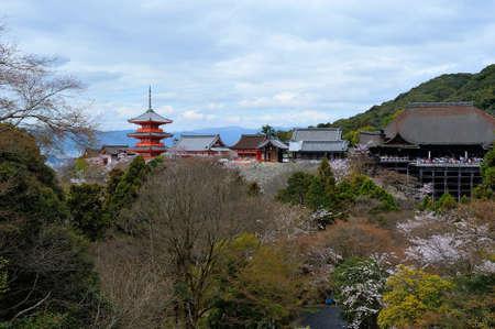 Pagoda at Kiyomizu-dera temple