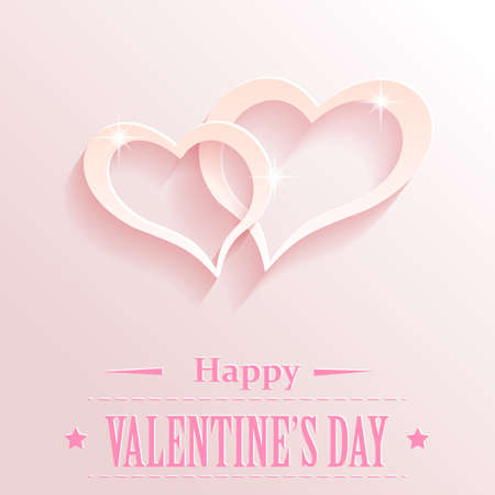 valentine s day: Design with hearts for valentine s day.