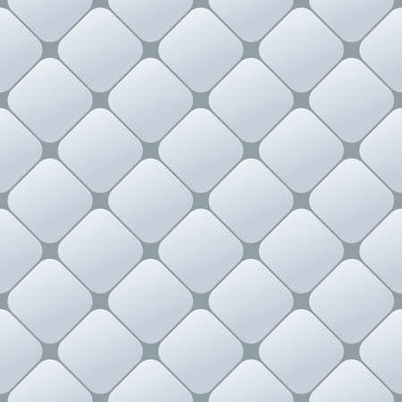 plastic material: Texture diamond plate seamless. Metal or plastic material. Corrugated steel rhombic and lentil form sheets. Vector illustration