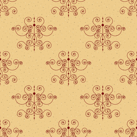 Seamless pattern or forged elements. Modern style for wallpaper, wrapping, fabric, background, apparel, other print production. Vector