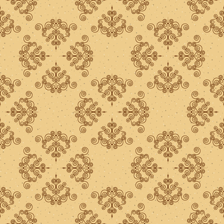 Seamless pattern or forged elements. Modern style for wallpaper, wrapping, fabric, background, apparel, other print production. Vector Illustration