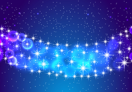 Stars and night sky. Abstract background. Vector eps10 illustration.