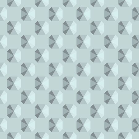 Metal element. Steel or gypsum texture tiled background. Illustration