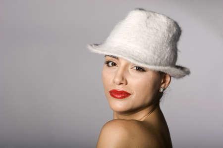 Mafia woman photo series. Studio shot Stock Photo - 11806045