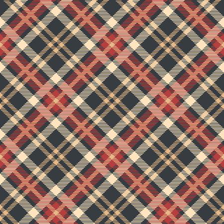 Classic tartan, Merry Christmas check plaid seamless patterns. 矢量图像