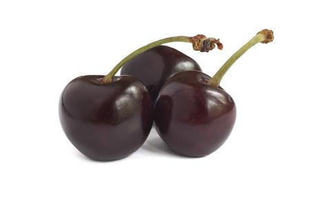 appetizing: Fresh appetizing berries cherries