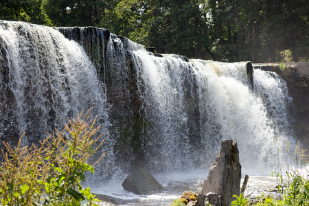estonia: Waterfall in Keila-Joa. Estonia