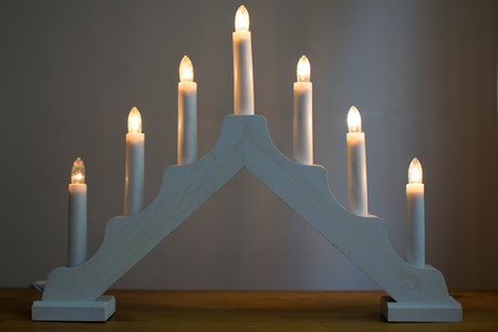candlestick: Candlestick Christmas Decoration