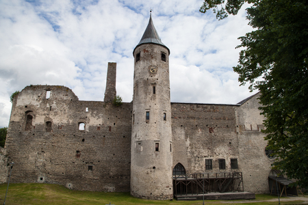 episcopal: Ruins of the medieval Haapsalu Episcopal Castle, Estonia