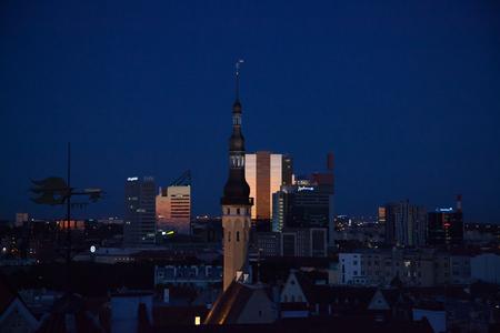 tallinn: night Tallinn