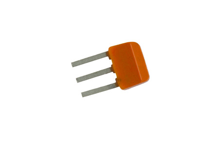 transistor: Un transistor en el blanco