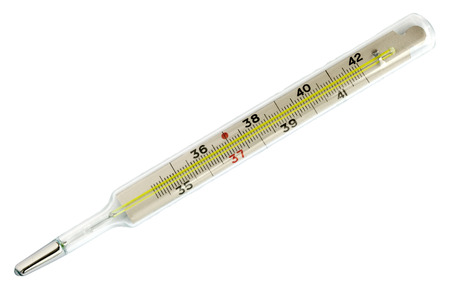 Medical mercury thermometer