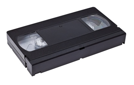 videotape: videotape isolated on a white background