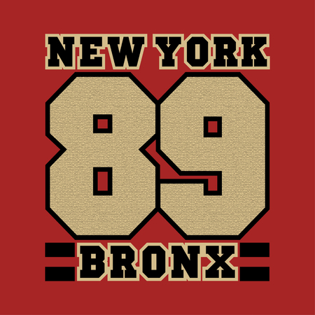 New York, bronx, the best in the team, striker, basketball, printing, sports T-shirt, fashion, graphic design, printing