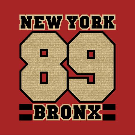 striker: New York, bronx, the best in the team, striker, basketball, printing, sports T-shirt, fashion, graphic design, printing