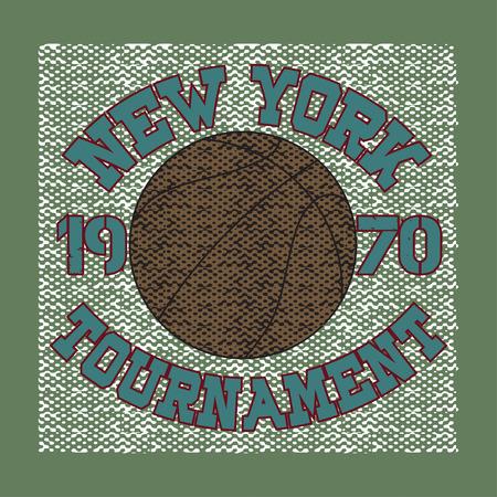 bronx: basketball, sport, new york, typography, t-shirt, graphics, image, print, sport