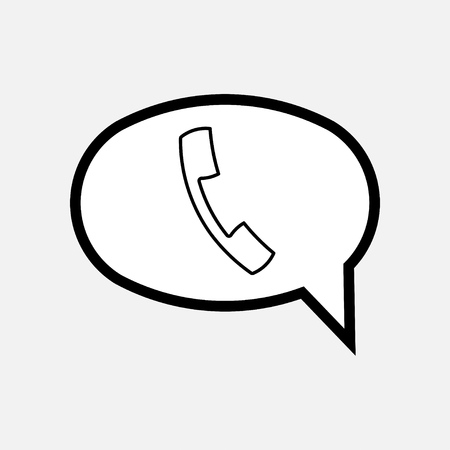 icon chat, message, communication fully editable vector image