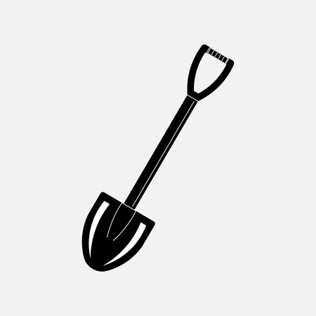 icon shovel, dig, treasure, treasure