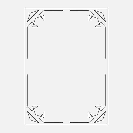 image, decorative ornamental frame original design