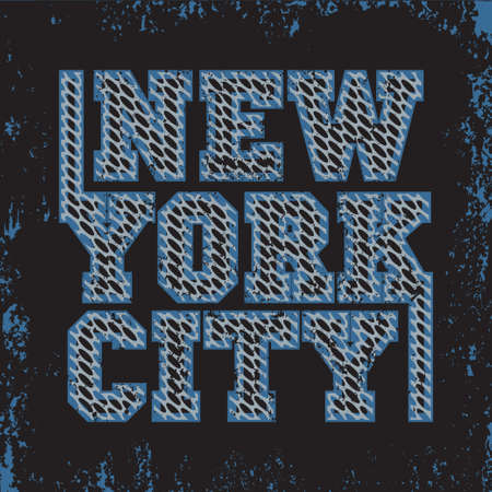 T-shirt New York, T-shirt sport, sport design, new york fashion, typography, graphics, stylish printing design for sportswear apparel. original wear. Concept in modern style for print production Ilustração