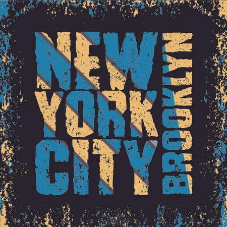 t-shir New York, New York typography, t-shirt Brooklyn, design graphic, printing man NYC, original design clothing, clothing, graphic design, emblem