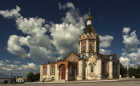 the ascension: Ascension Cathedral city of Kasimov