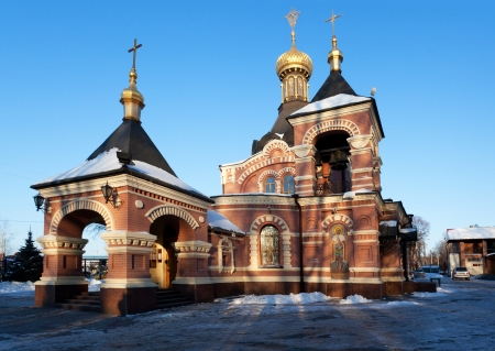 kharkov: Alexandr Nevsky church, Kharkiv, Ukraine Stock Photo