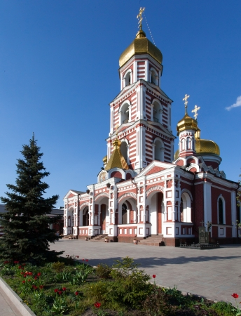Svyato-Panteleymonovsky church of Kharkiv, Ukraine Stock Photo - 18080913