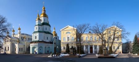 Svyato-Pokrovsky Monastery, Kharkiv, Ukraine Stock Photo - 18081002