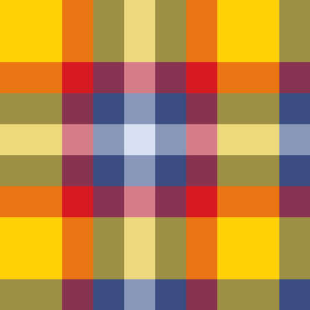 Traditional Scottish pattern of lines of different colors.