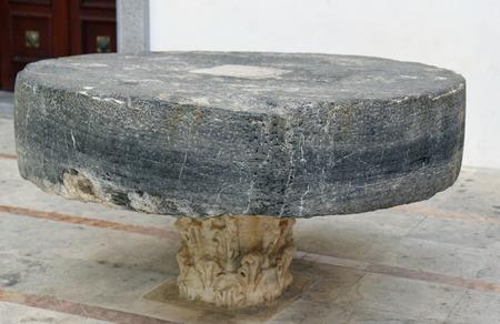 millstone: Millstone on the floor