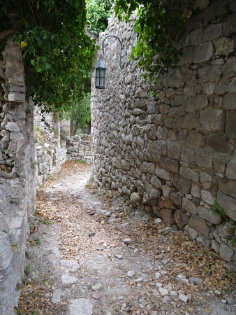 stary: Ruins of Old Bar Stary Bar, Montenegro Stock Photo