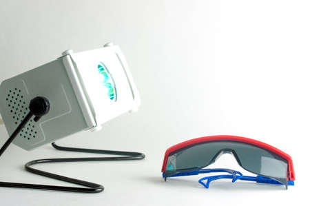 quartz UV irradiator as protection against virus