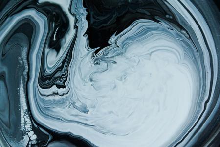 liquid paint mixed from different colors, automotive enamel