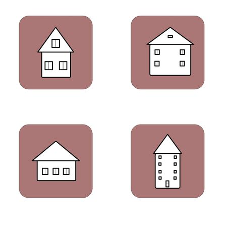 Premium set of home line icons. Simple pictograms pack. Stroke vector illustration on a white background. Modern outline style icons collection.