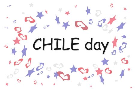 Chilean independence day symbols, national colors and symbols of the Chilean state.