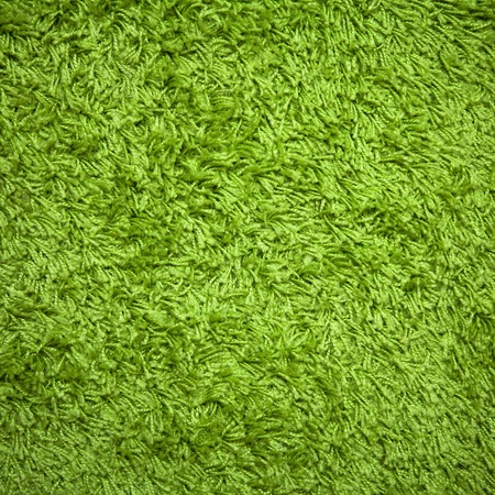 a carpet with a grass texture Stock Photo