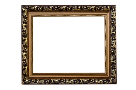 Frame of Baget isolated on white Stock Photo - 8517069