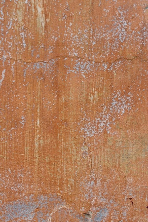old brick wall with plaster color photo