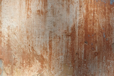 colorful old plaster wall, robbing