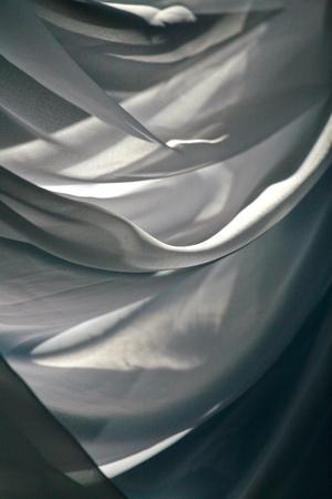 sunlight breaking through the curtain Zdjęcie Seryjne