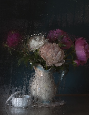 Still Life with Peonies Stock Photo - 11544523