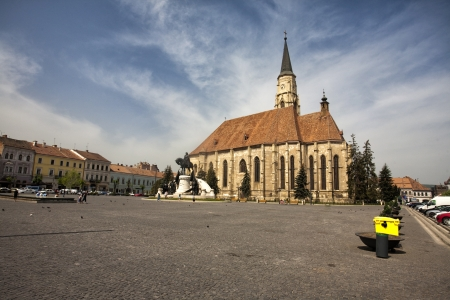 old city in Cluj, Romania