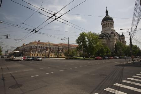 cluj: old city in Cluj, Romania