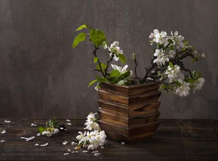 Nature morte avec fleurs de pomme