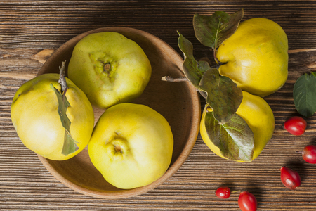 quinse on vintage wooden backgraund Stock Photo