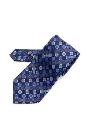 Cravate élégante pour homme isolé sur fond blanc Banque d'images - 80107875
