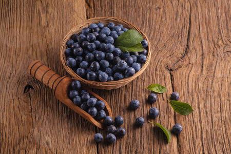 Sloes in bowl