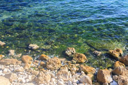 Black sea shore in Contanza, Romania Zdjęcie Seryjne
