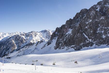 Mountains Shymbulak Ski Resort